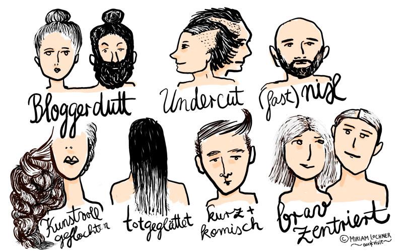 Frisurenvielfalt 2015