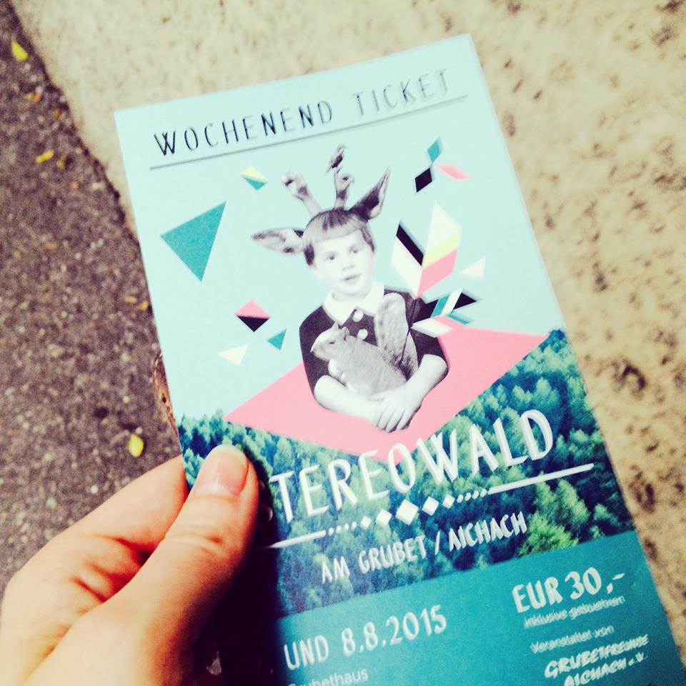 Stereowald Festival letzte Karte aus dem Lamm