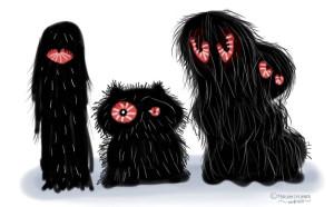 Dreieinhalb böse Monster. Welches ist deine größte Angst?