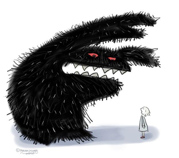 Manchmal ist die eigene Angst vieeel zu groß