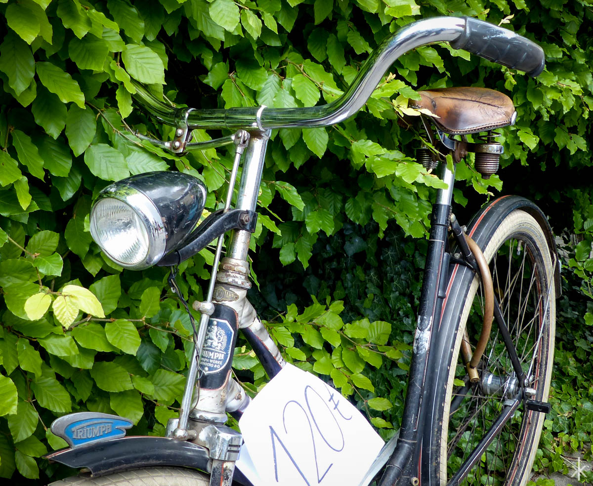 Schönes Fahrrad von Triumph