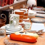 Vintage-Tassen und Kleinkram