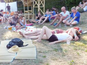 Schlafen auf dem Stereowald