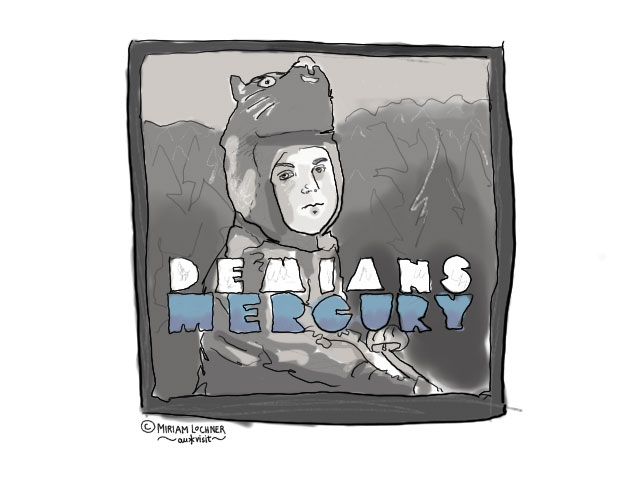 Demians Mercury Cover Illustration