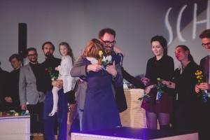 Happy am Schluss: Oliver Brunner und Leonie Pichler