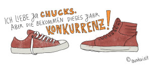 Ich liebe ja Chucks!