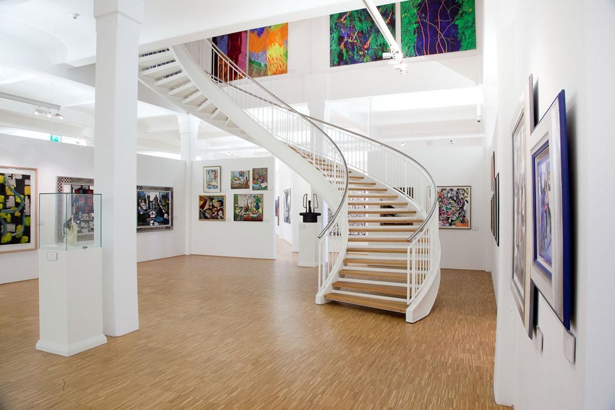 Kunstmuseum Walter innen, Foto von Roman Tarasenko