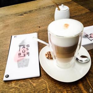 Kaffee in der Färberei in Augsburg