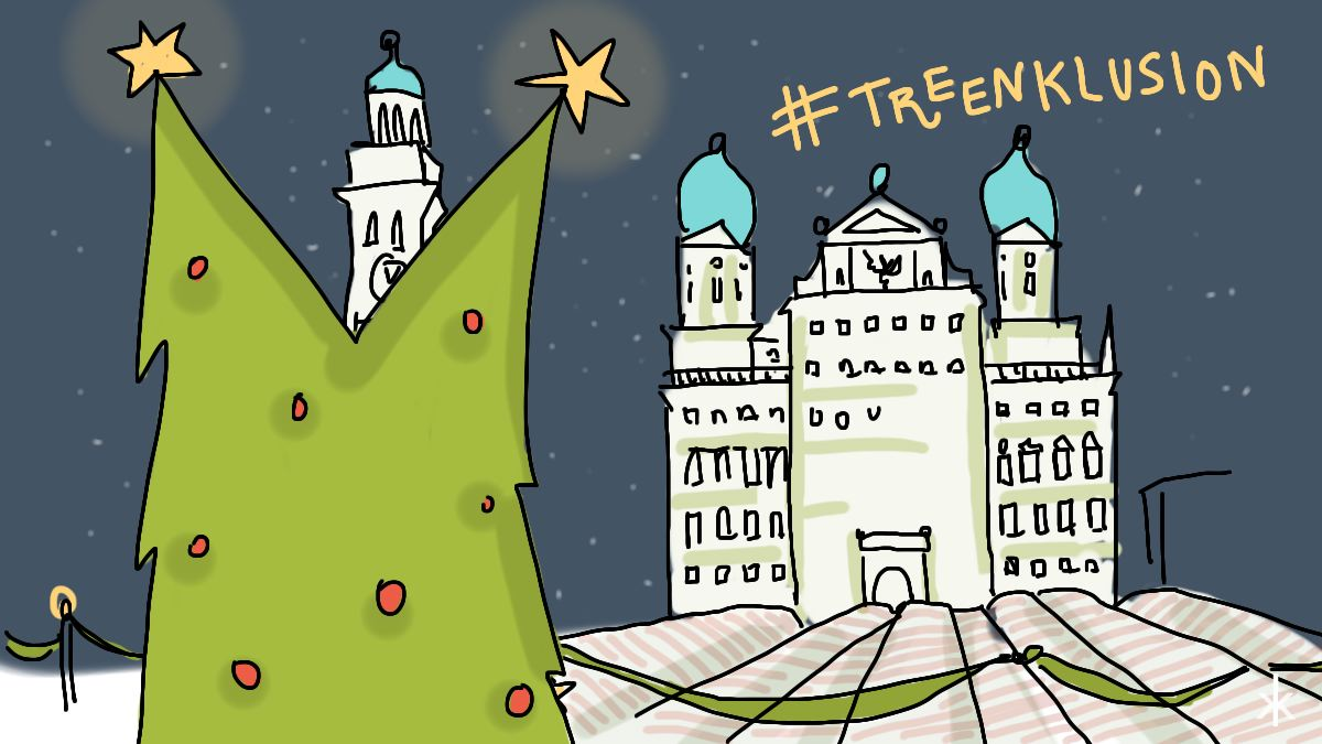 #treenklusion in Augsburg