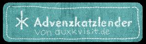 Das Label zum Advenzkatzlender