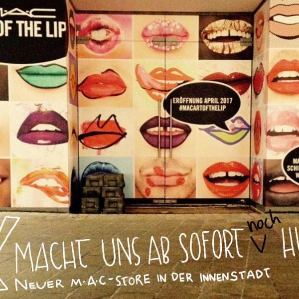 MAC Store jetzt auch in Augsburg