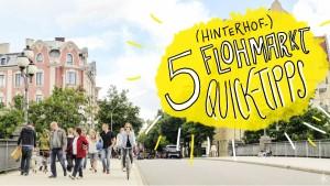 5 Quicktipps für den Hinterhof-Flohmarkt