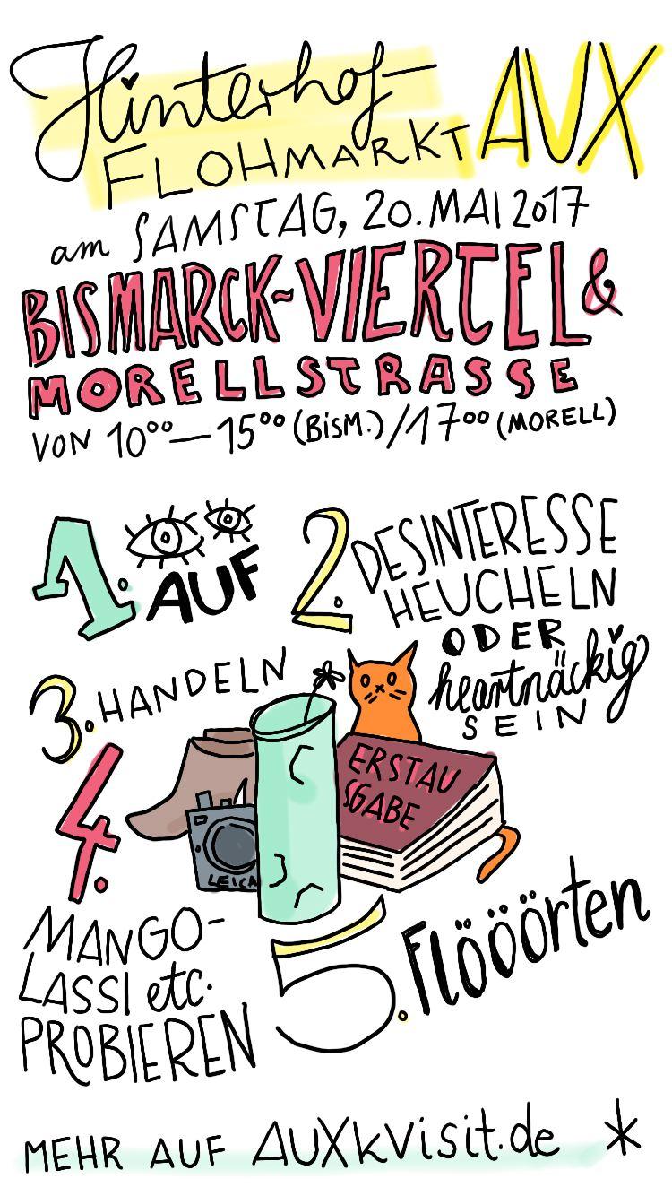 Hinterhofflohmarkt im Bismarckviertel und in der Morellstraße – was beachten?