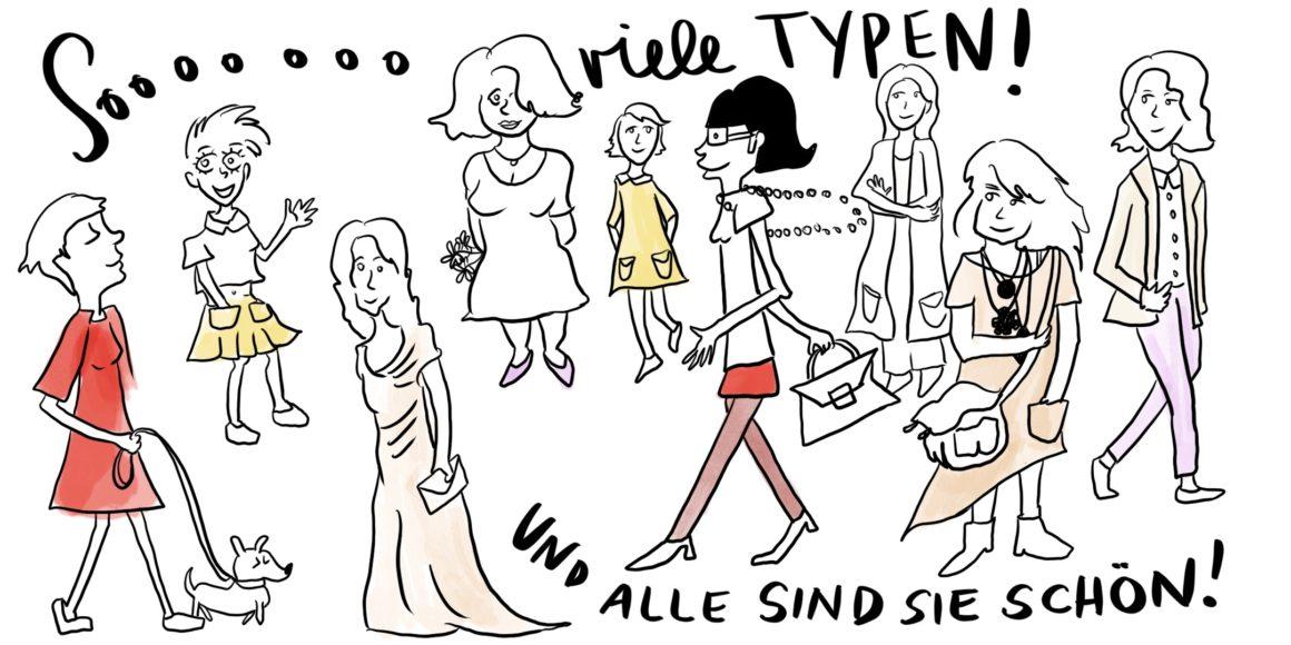 Das Kibbe-System feiert die Vielfalt an weiblichen Formen